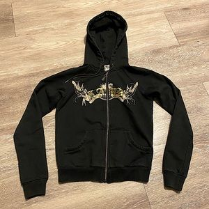 L.A.M.B. RARE NWOT Zip-up Hoodie Sweatshirt VNTG S